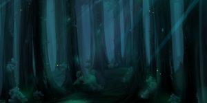świetliki las