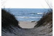 Sciezka na plaze