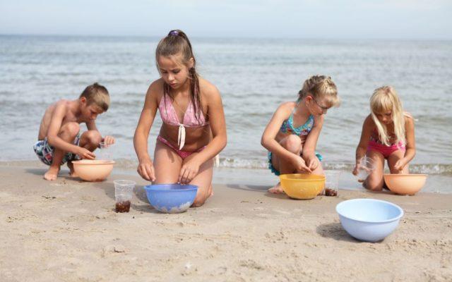 dzieci plaża 1