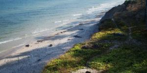 orzechowo plaża z góry
