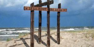 plaża czołpino
